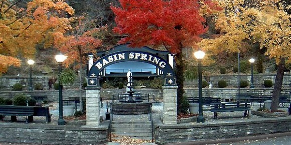 Basin Spring Park in Autumn